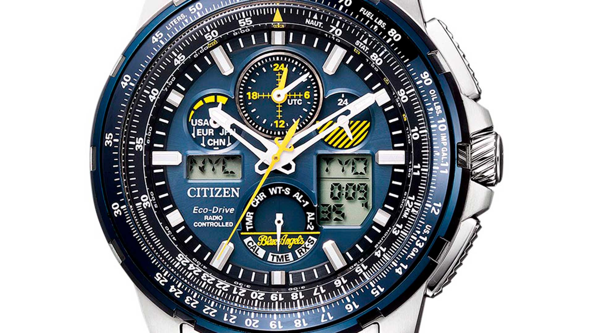 Citizen Blue Angels Skyhawk JY8058-50L